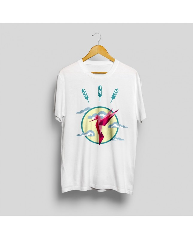 Hummingbird printed t-shirt